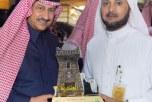 الأمير عبدالعزيز بن بندر يزور قرية الباحة التراثية بالجنادرية