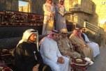 قائد حراسة معسكر الجنادرية يزور قرية الباحة