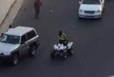 ضبط المعتدين على رجل الأمن في كورنيش جدة
