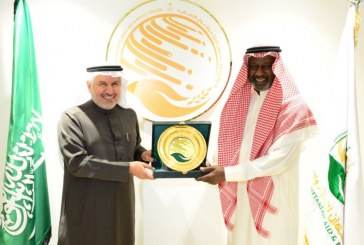 """""""ماجد عبد الله"""" سفيرًا للعمل الإنساني في مركز الملك سلمان للإغاثة"""