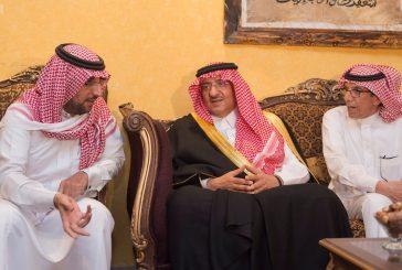 نائب خادم الحرمين ينقل تعازي الملك في وفاة المقدم العريفي