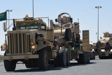 القوات السعودية المشاركة في تمرين حسم العقبان 2017 تصل الكويت