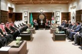 خادم الحرمين وملك الأردن يشهدان توقيع اتفاقيات وعقود بين البلدين