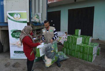 الحملة الوطنية السعودية تواصل توزيعات المساعدات الإغاثية للأشقاء السوريين في لبنان