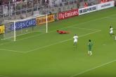 """بالفيديو.. المنتخب السعودي يتخطى العراق بقذيفة """"الشهري"""""""