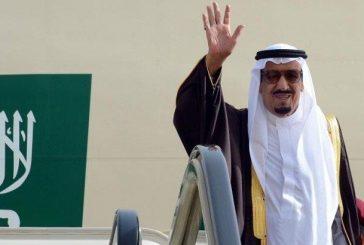 خادم الحرمين يصل الرياض