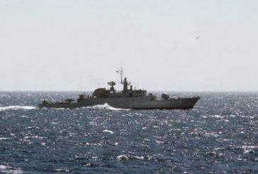 اعترض ثلاثة زوارق حوثية قبالة ميناء ميدي تحاول تنفيذ هجوم على سفن التحالف
