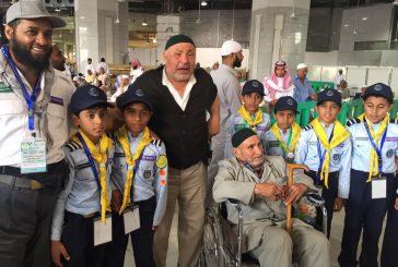 350 شبل في خدمة زوار بيت الله الحرام