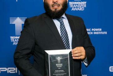 السعودية للكهرباء..تحصل على جائزة معهد EPRI الأمريكي لأبحاث الطاقة الكهربائية