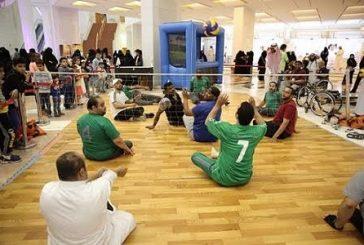 """""""العمل والتنمية الاجتماعية"""" تشارك في مهرجان ليالي الإبداع لذوي الاحتياجات الخاصة"""