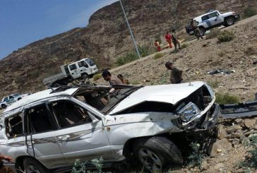 10 إصابات بعضها حرجة من عائلة واحدة في حادث مروري