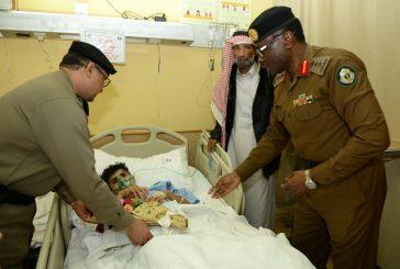 بالصور ..مستشفى الملك فهد يستقبل مُدِيري الشرطة والمرور بالباحة