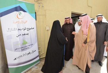 الأمير بدر يتفقد مشاريع الترميم ببر الأحساء