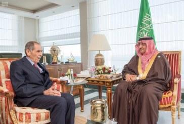 ولي العهد يستقبل وزراء داخلية الإمارات واليمن والعراق والأردن