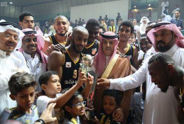 الاتحاد يتوّج بطلاً للدوري الممتاز لكرة السلة