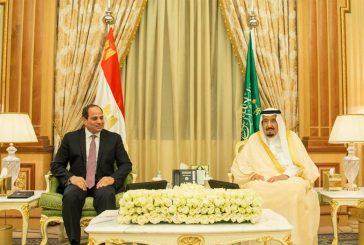 خادم الحرمين يعقد جلسة مباحثات رسمية مع رئيس مصر