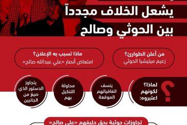 الخلافات تعصف بالانقلابين في صنعاء
