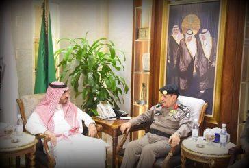 مدير الأمن العام يجتمع مع مدير الخدمات الطبية بوزارة الداخلية