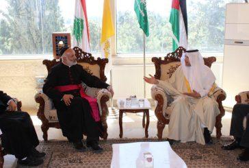 سفير خادم الحرمين بالأردن يزور كنيستي مطرانية الروم الأرثوذكس والنيابة البطريركية العامة للموارنة في عمان