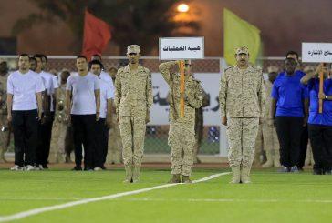 """""""المضحي"""" يفتتح بطولة شهداء الحرس الوطني الرياضية"""