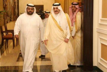 نيابة عن خادم الحرمين الأمير سعودبن نايف يقدم العزاء إلى حاكم إمارة الفجيرة
