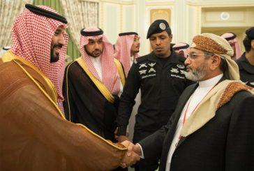 ولي ولي العهد يلتقي عدداً من كبار مشايخ القبائل اليمنية