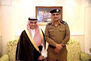 محافظ الجبيل يقلد عدد من الضباط رتبهم الجديدة