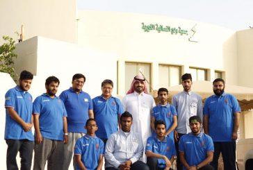 فريق #الشباب_همة التطوعي ينفذ حملة صيانة منازل المحتاجين بمدينة الجبيل