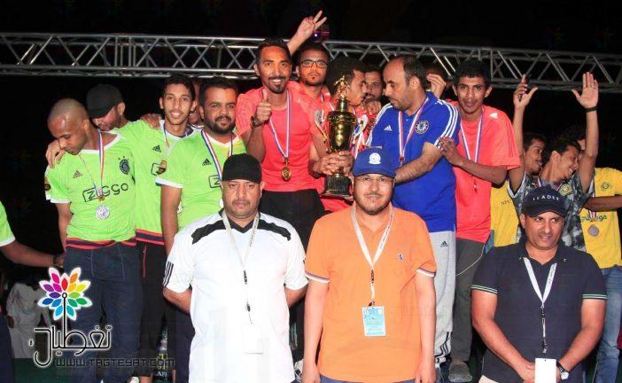 """""""الأمداد و التموين"""" يتوج بطلاً لكأس المهرجان البحري لكرة القدم الشاطئية بالأسطول الشرقي"""