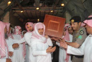 """بالصور.. وصول جثمان الشهيد """"المالكي"""" لمطار الملك سعود بالباحة"""