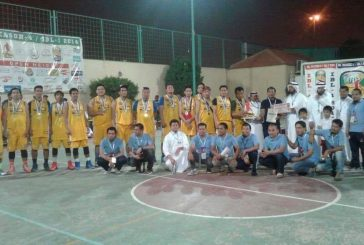 """ختام دوري كرة السلة الدعوي للجالية """"الفلبينية"""" بمشاركة """" 52″ فريقاً"""
