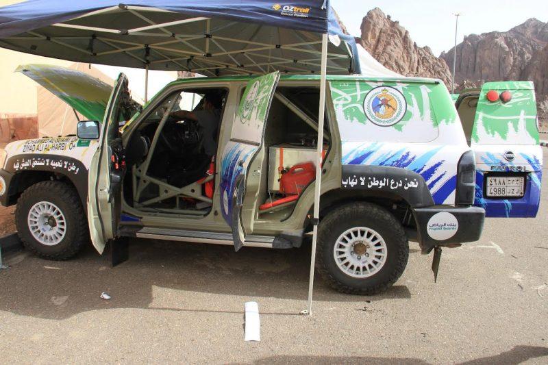 حرس الحدود يشارك في رالي حائل وينعي وفاة السائق نياف الشيباني