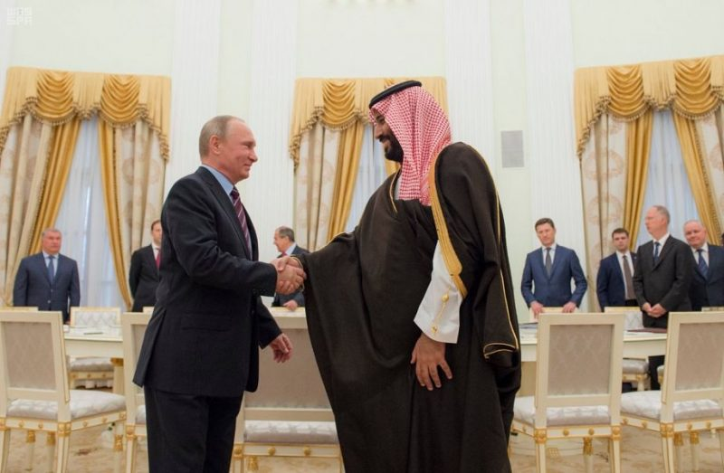 الرئيس الروسي يستقبل سمو ولي ولي العهد في موسكو