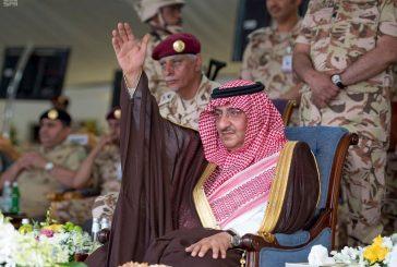 بالصور..ولي العهد يرعى العرض العسكري لوحدات قوات الأمن الخاصة