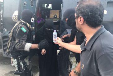 رجال الأمن في #العواميه ينقذون الأسر من إرهاب الفئة الضالة