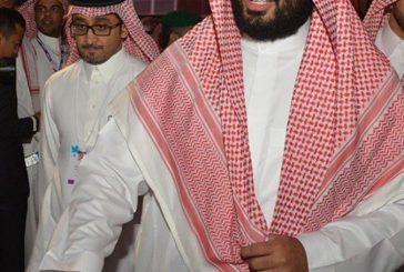 بالفيديو..حضور الأمير محمد بن سلمان لـ #مغردون2017