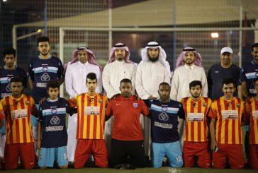 افتتاح دوري محطات تحلية الخبر للشركات بالعزيزية الخبر