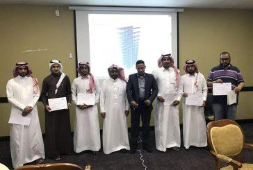 فرع الهيئة السعودية للمهندسين بالباحة تختتم دورة التحليل الانشائي