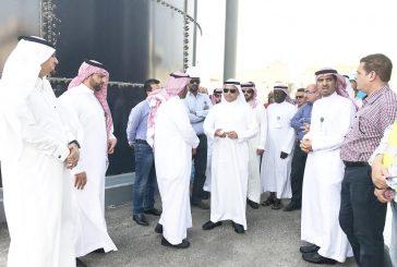 وكيل وزارة البيئة لخدمات المياه يتفقد أعمال المنطقة الشرقية
