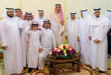 أمير منطقة الباحة يزور شيخ قبيلة بني كبير غامد وشيخ قبيلة بني عامر زهران