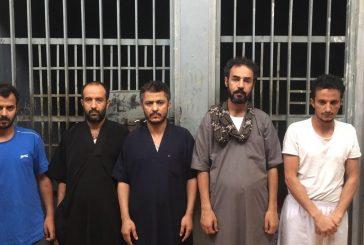 الرياض..ضبط 5 يمنيين ارتكبو 20 جريمة سرقة