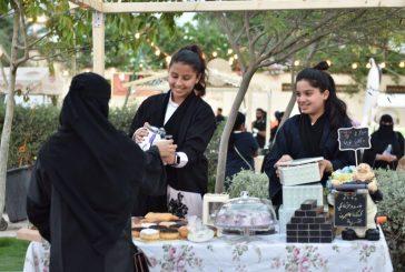 أطفال يترأسون بمشاريعهم الناشئة مهرجان خيري في الخبر