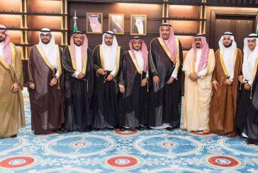 أمير الباحة يستقبل رئيس فرع هيئة التحقيق والادعاء العام بالمنطقة ومدير تعليم الباحة والمخواة