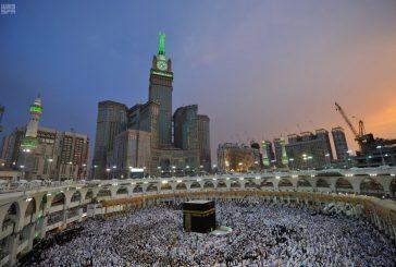 شاهد ..المسجد الحرام في ليلة ختم القرآن الكريم