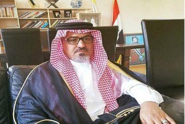 """رئيس """"النضال العربي"""" يهنئ الأمير محمد بن سلمان على ولاية العهد"""