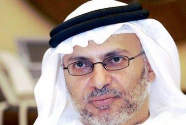قرقاش محذرًا قطر: ساعة الحقيقة قاربت بعد أن تعالى صوت الحزبي والأجير