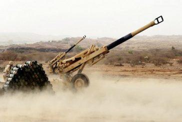 المدفعية السعودية تحبط هجمات حوثية قبالة نجران