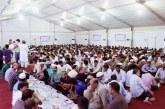 """إسلام ٤٨ أجنبيا وتوزيع ٧٠ ألف وجبة بمخيم """"هداية"""" الرمضاني"""