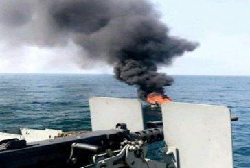 """تحالف : تعرض سفينة ناقلة للنفط لهجوم بقذائف """"أر.بي.جي"""" من زورق قبالة السواحل اليمنية"""