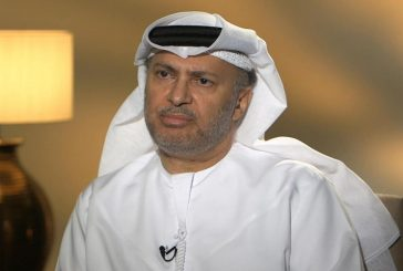 قرقاش: وقت الدبلوماسية مع قطر شارف على النهاية